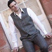 Mens Tweed Waistcoat
