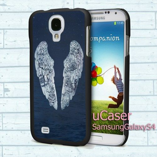 """Coldplay Ghost Stories for Samsung Galaxy S4 5.0"""" screen Black Case"""