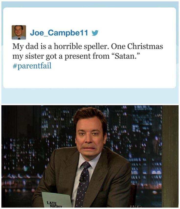 This #ParentFail: