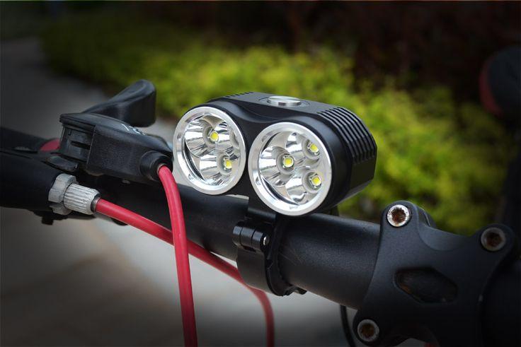 Impermeabile 10000 Lumen 6 * XM-L T6 LED Luce Della Bicicletta Della Lampada Della Luce Della Bici