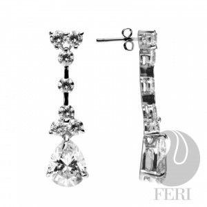FERI 950 Siledium silver, My Princess Siledium silver Earrings