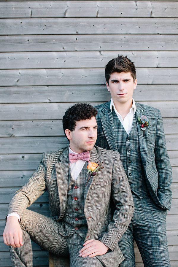 Gay wedding inspiration, Autumn wedding - #matthewoliver & #hayleysavagephotography