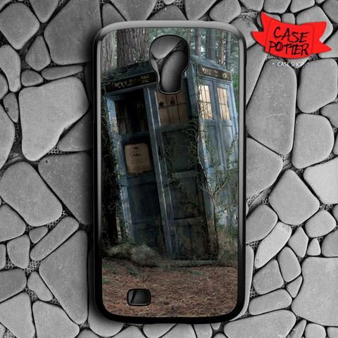 Abandoned Tardis Doctor Who Samsung Galaxy S4 Black Case