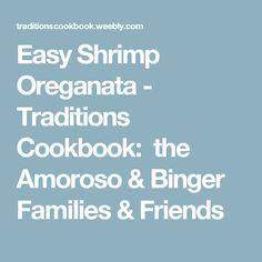 Easy Shrimp Oreganata - Traditions Cookbook: the Amoroso & Binger Families & Friends