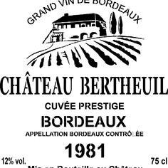 Pochoir «etiquette vin «déco façon caisse de vin…