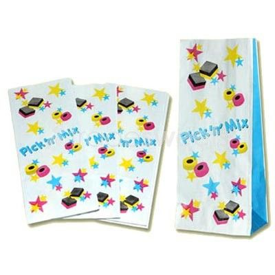 Pick 'n' Mix Large Sweet Bags - 100 Pack