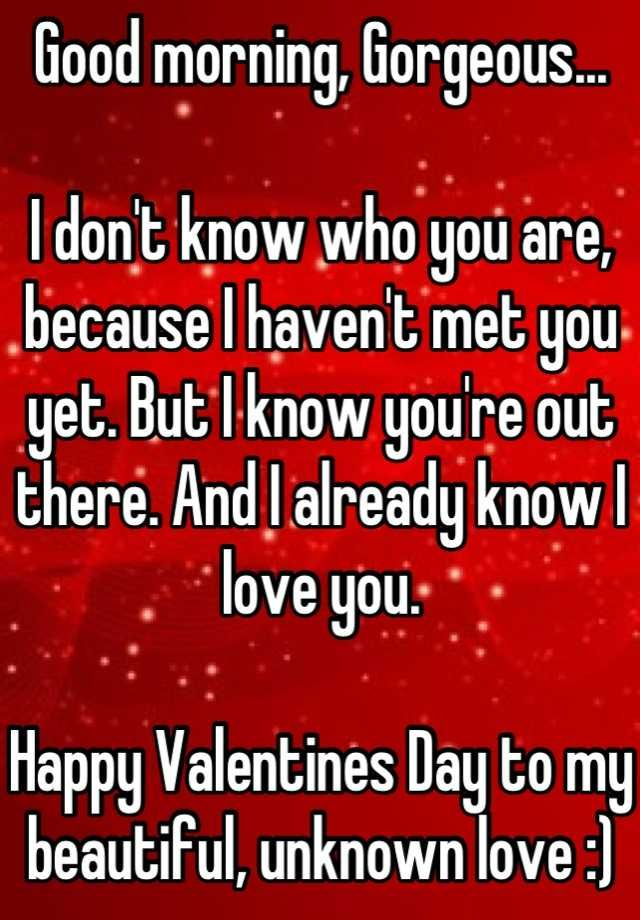 Good Morning My Love Happy Valentines Day : Best images about whisper quotes on pinterest it