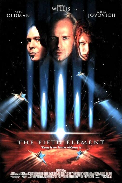 Me encanta esta peli, cantidad de gente guapa :) The Fifth Element (1997)