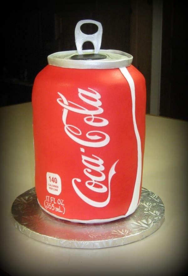 Coca Cola by ddaigle on Cake Central. I love it!