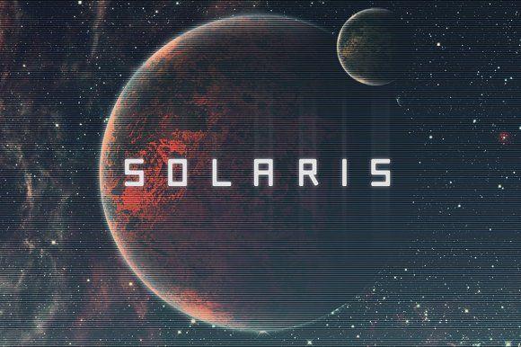 Solaris - Futuristic Font by Tugcu Design Co. on @creativemarket
