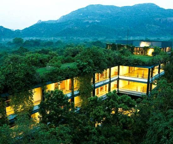 Best Places For Cheap Holiday: Kandalama Eco Friendly Hotel, Sri Lanka