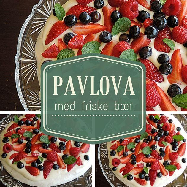 Virkelig flot kage, der både imponerer synsmæssigt og smagsmæssigt med den perfekte kombination af friske bær, sprød marengs og dejlig vaniljecreme.