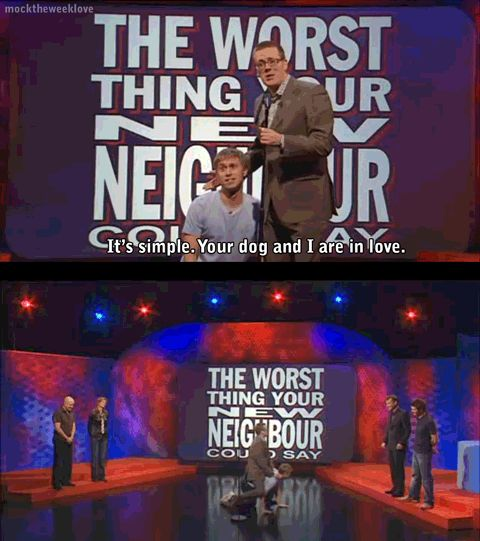 The worst thing your new neighbour could say | Frankie Boyle and Russell Howard…