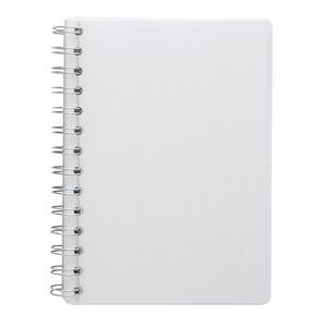 X B6 PP Spiral Notebook 180 Page White