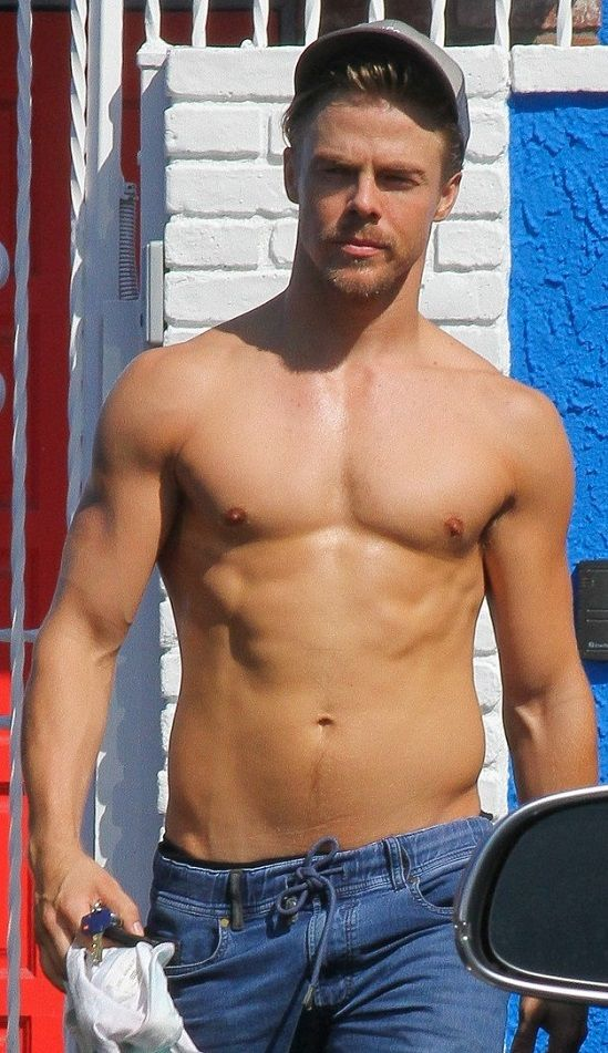 Wicked Gay Blog: Derek Hough at the 'DWTS' Rehearsals Looking Wicked Hot as F%ck