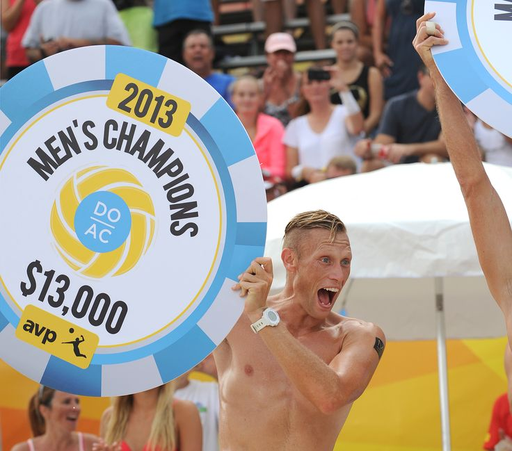 Casey Patterson winning the AVP in Atlantic City.