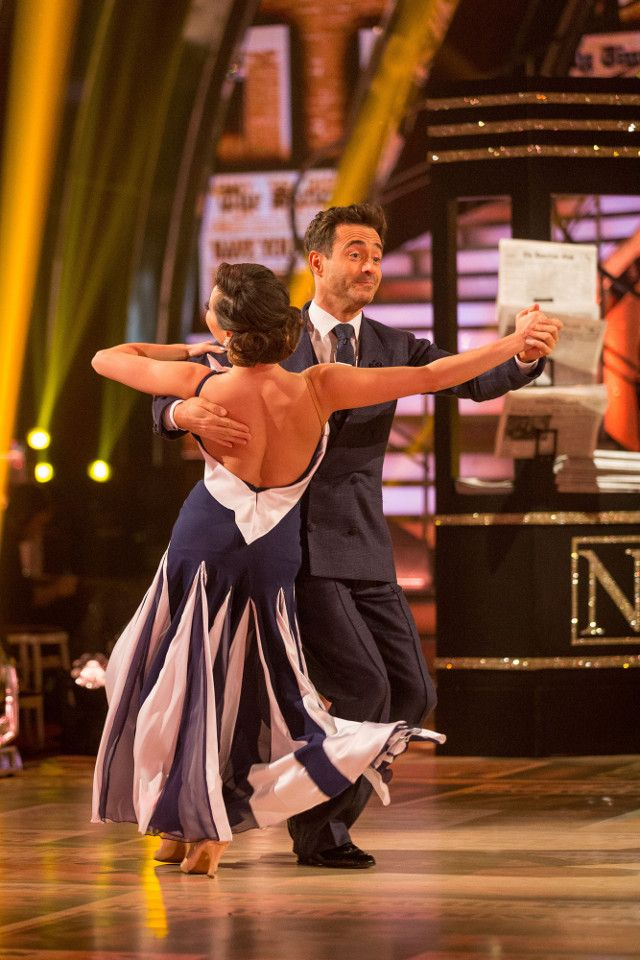 SCD semi-final 2017. Joe McFadden & Katya Jones. American Smooth. BBC/Guy Levy.