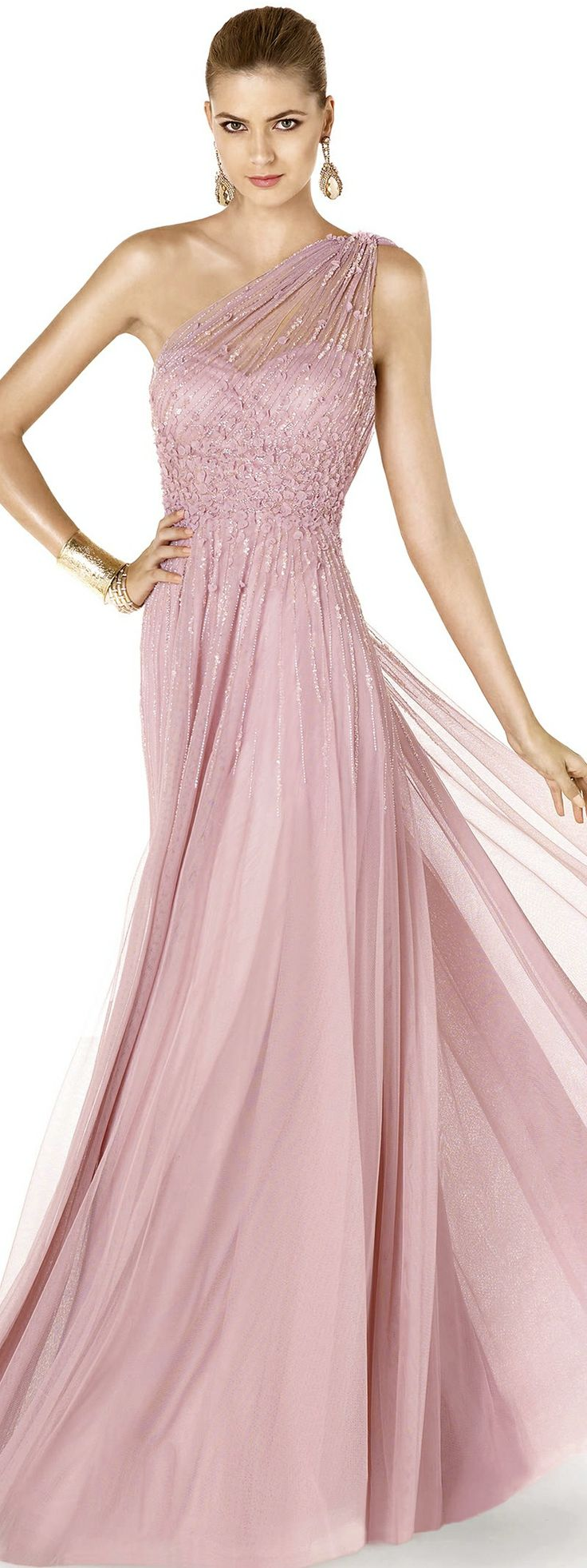 627 best Pink \'Princess\' Gowns images on Pinterest | Evening gowns ...