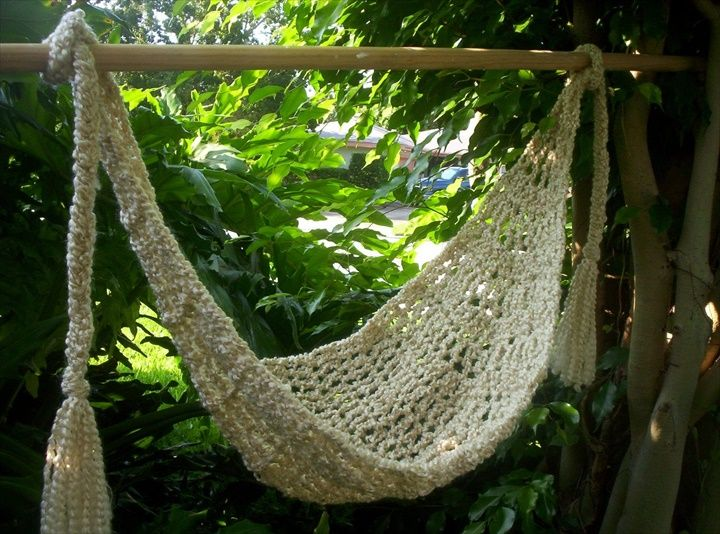 15 Crochet Hammock Free Patterns | DIY to Make