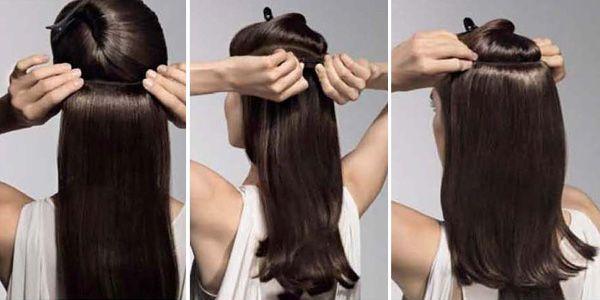 НАКЛАДНЫЕ ПРЯДИ Альтернатива наращиванию волос - накладные пряди на заколках. Высокое качество волос, Большой выбор оттенков. Длина от 50 см. до 76 см.