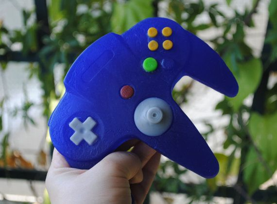 3D N64 Controller parody handmade Soap  Novelty gift by NerdySoap