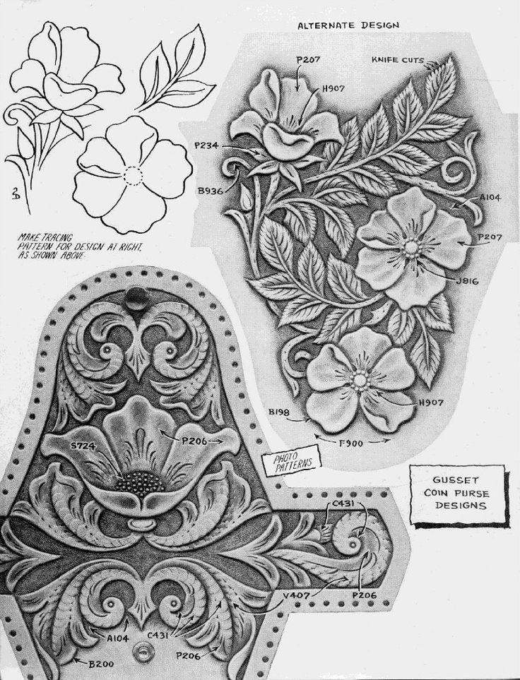 Best images about leather tech tooling patterns on