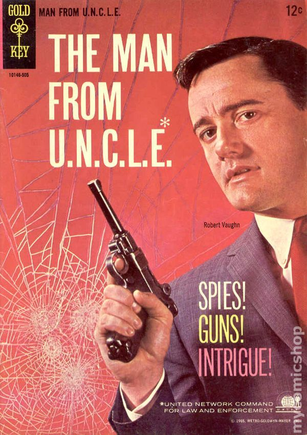 Man from UNCLE (1965 Gold Key) comic books #1