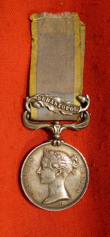 Seaforth Highlanders Crimean medal