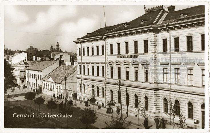 Cernăuţi. Universitatea.