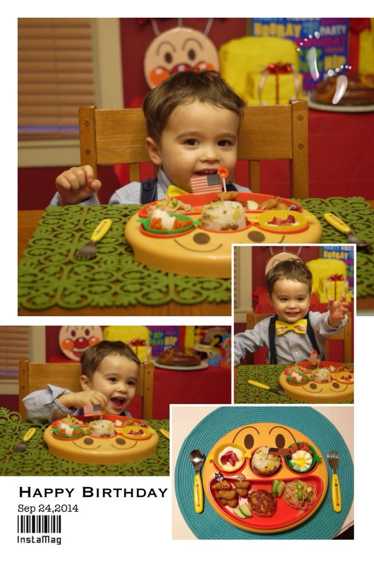 Anpanman food party ideas