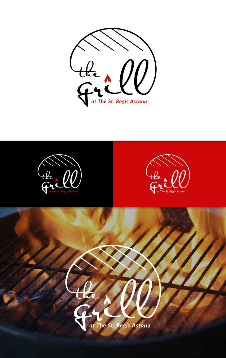 the grill logo - grill logo - creative logo