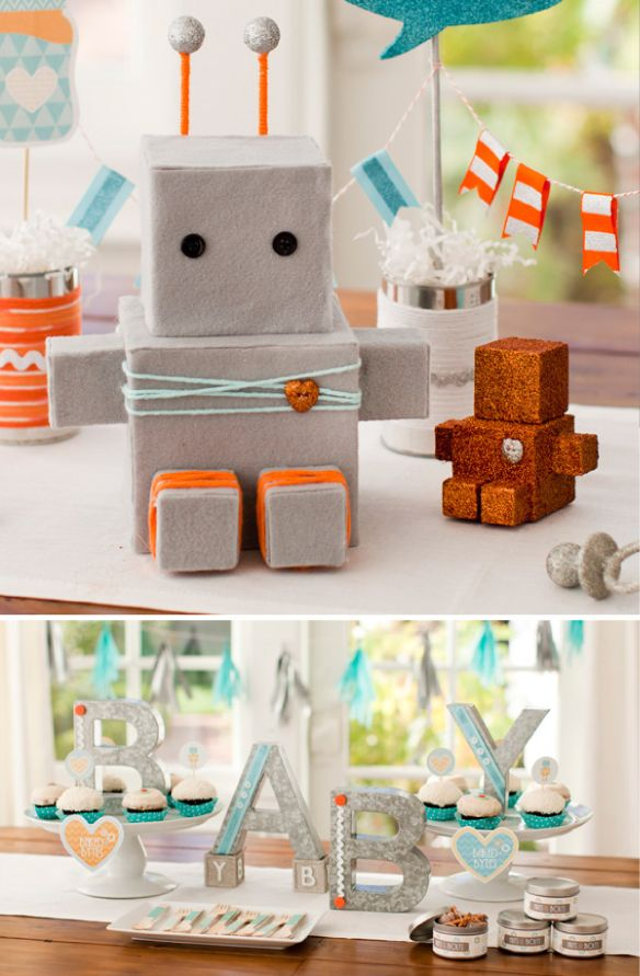 robot baby showers baby boy shower baby boy or girl baby love robot