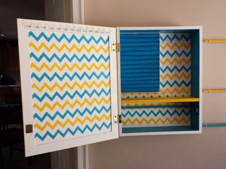 Hometalk :: Old Medicine Cabinet inspired a Jewelry Organization wall.
