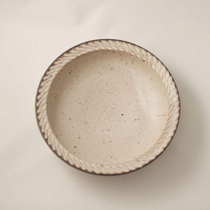 和食器 信楽 カレー皿 しのぎ 山本 雅則