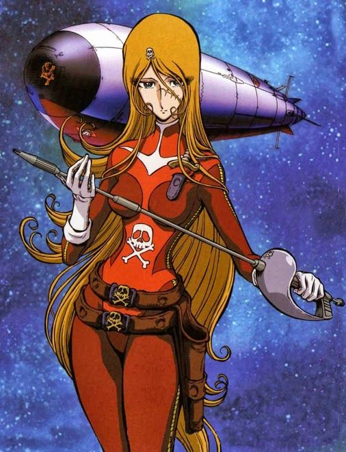 Esmeraldas - #Albator #CaptainHarlock