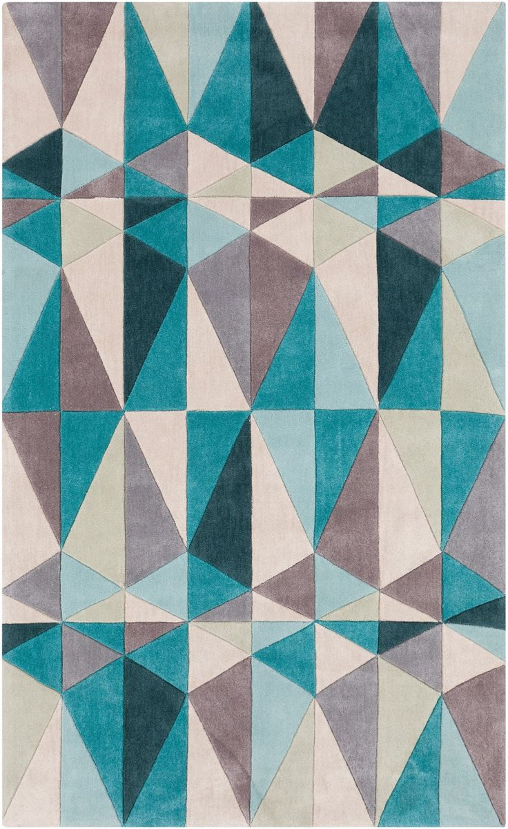 best  contemporary rugs ebook images on pinterest  - geometric contemporary rug  midcentury modern rugs are always on trendsthe colors