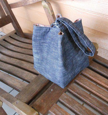 Man Bento Bag, Man Lunch Bag
