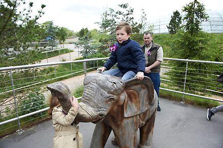 Prince Henrik at Copenhagen Zoo with his grandchildren - Photo 8