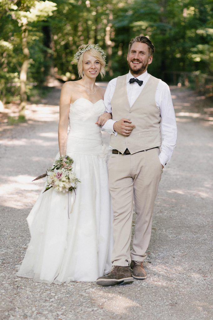 Lässige Boho Gartenhochzeit in Grün | Hochzeitsblog The Little Wedding Corner