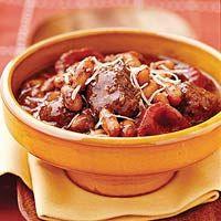 Pesto Meatball Stew