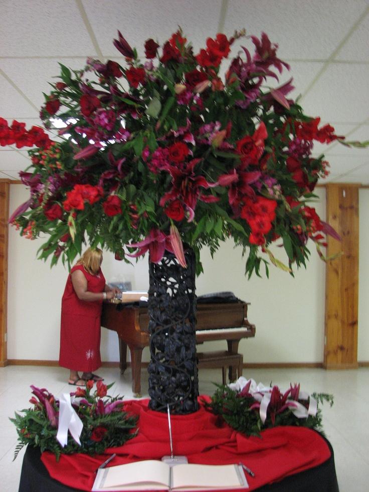 Red And Black Wedding Ceremony #goth Wedding ... Wedding Ideas For Brides U0026