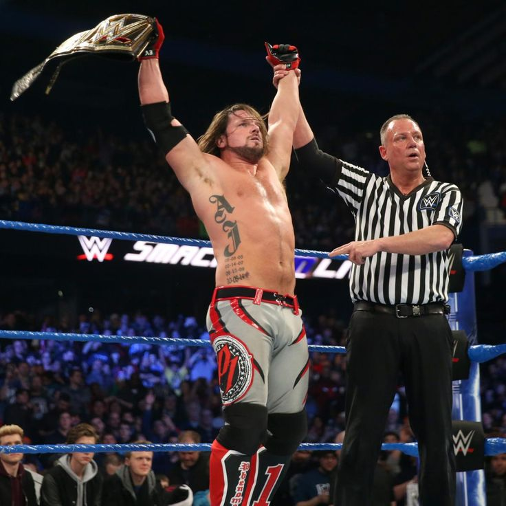 Styles is still WWE Champion.