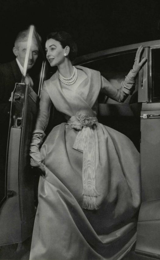Christian Dior haute couture, 1955