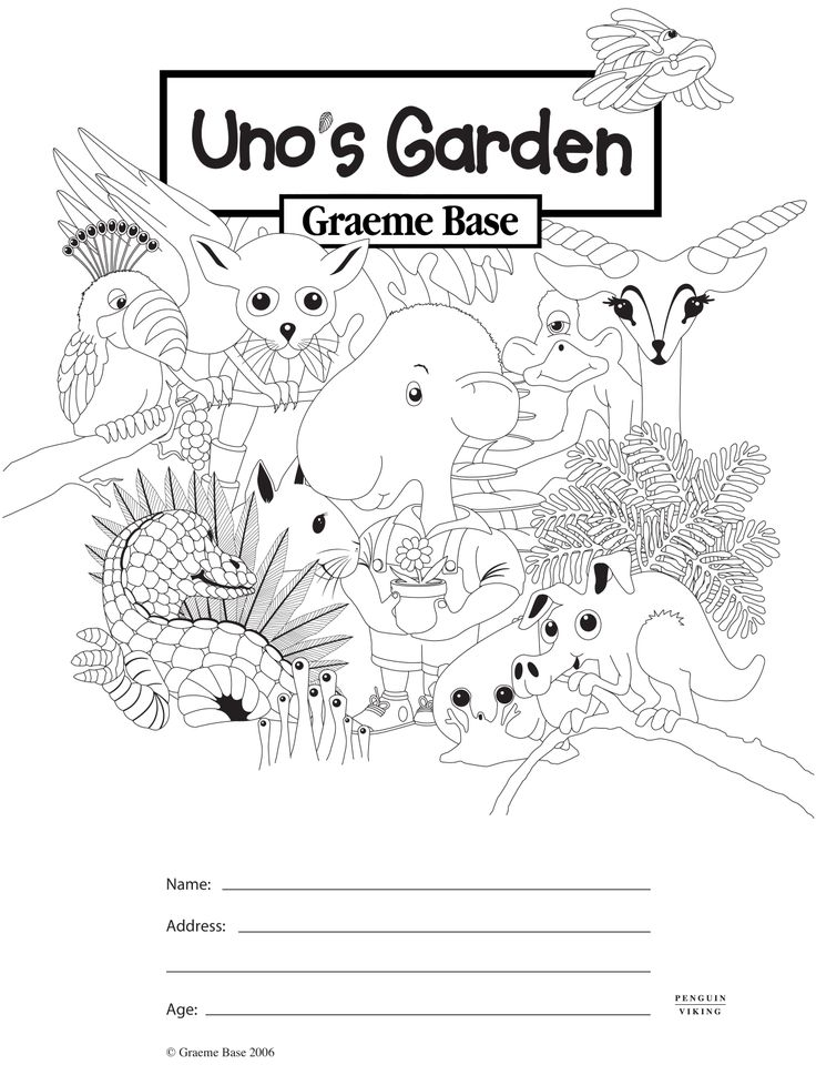 Uno's Garden Colouring In  http://www.puffin.com.au/files/colouring-pages/unos_garden.pdf