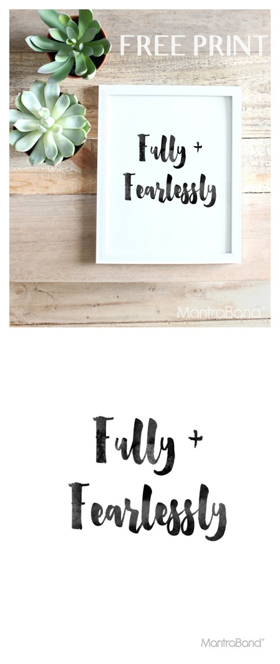 Fully + Fearlessly