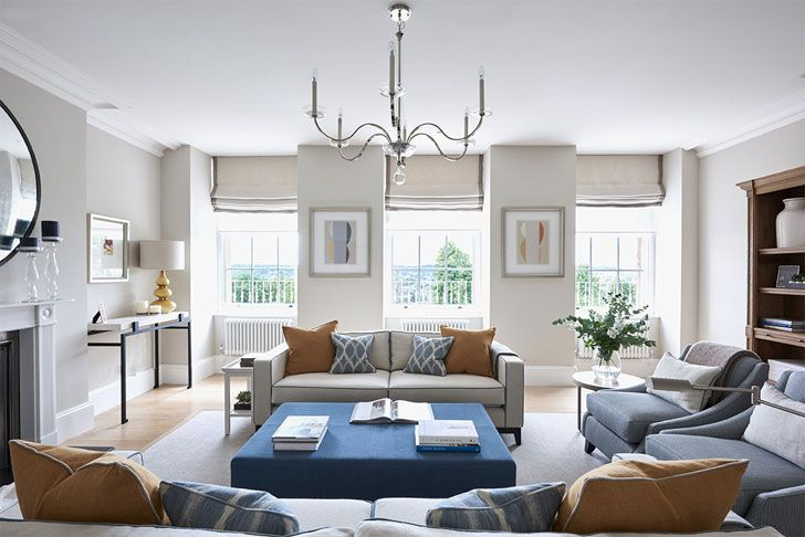 Светлые современные апартаменты в Англии | Пуфик - блог о дизайне интерьера