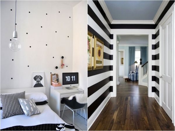 tem uma, duas ou mais paredes vazias e sem muita graça em casa? O que acha de aproveitar a tela em branco que há logo na entrada de sua casa pra fazer algo muito legal?