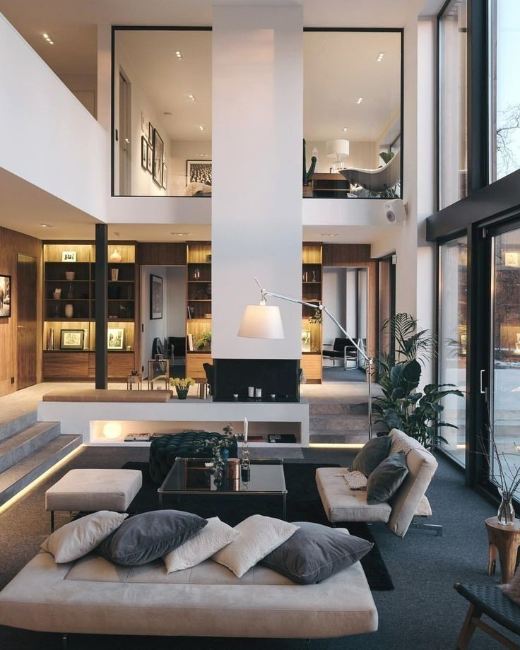 Pin On Unique And Captivating Home Interior Designs Modern Chic Living Room Home Interior Design Home Decor