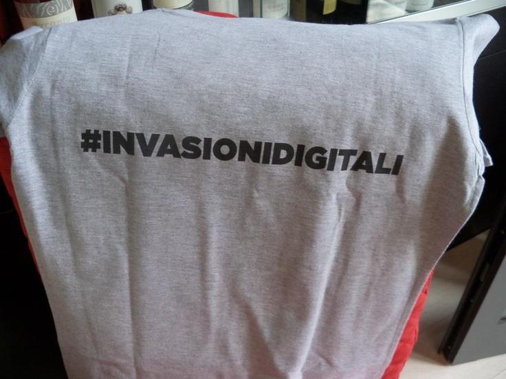 Olga Menini #InvasioniDigitali a Carrara!