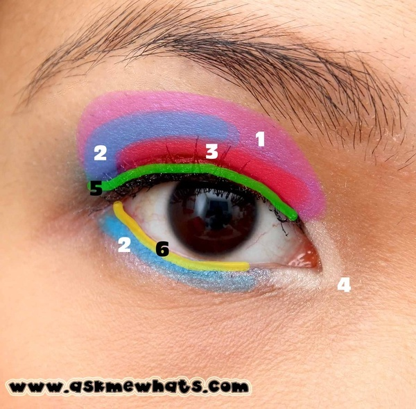 Asian makeup diagram. ^^  www.AsianSkincare.Rocks   www.SkincareInKorea.info
